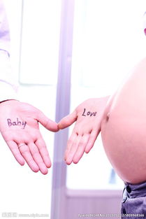 孕妇写真图片