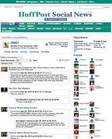 知名博客网站Huffington Post开始为读者提供勋章