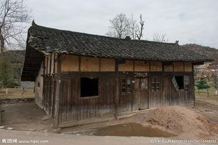 破旧木房图片