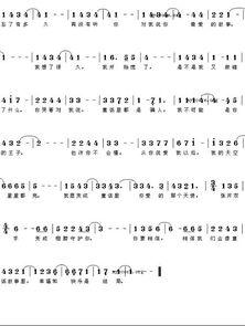 求 童话 的钢琴数字简谱,,要双手伴奏的.谢谢