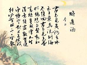 君启天独-李白   君不见,黄河之水天上来,   奔流到海不复回.   君不见,高堂明...