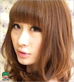 多款女生长刘海发型图片及短齐刘海碎发解析