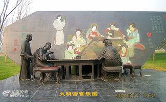 传神的簇簇雕塑穿越了千年大唐盛世历史.