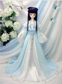 美丽的古装sd娃娃,海量图片重新发布,