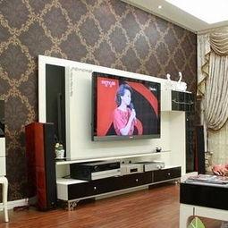 最新简约客厅电视背景墙壁纸效果图-最新电视背景墙壁纸高清大图汇总