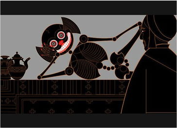 《猎人与骷髅怪》 图片来源:雪莉·克雷瑟-谁在讲故事 图说2012中国...