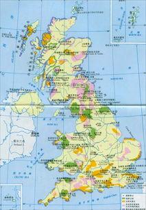 英吉利海峡地图-英国公园分布图高清版大地图