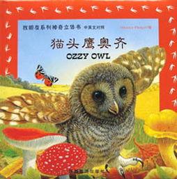 猫头鹰奥齐 找朋友系列立体书 英汉对照