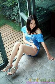 网络美女茜茜个人博客照片