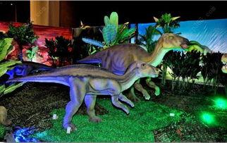 30余种史前珍稀恐龙模型