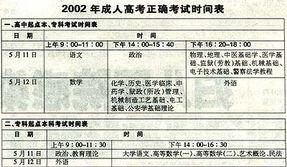 广东省成人高考部分考试科目时间将紧急调整