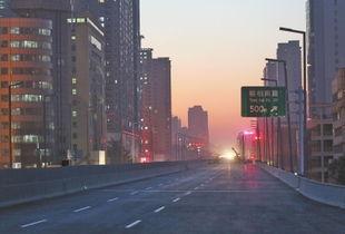 学院血红天-郑州陇海路高架大学路以西明天通车 多个工程通车