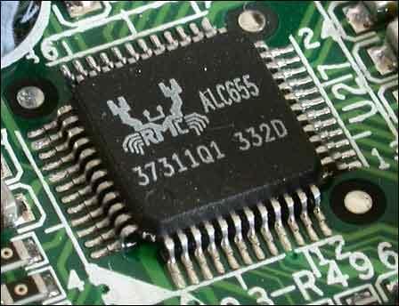 图为:Realtek ALC655 AC97'Codec-会当凌绝顶 SIS 755主板欲做K8...