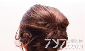 中长发怎么盘头发简单好看,中长发怎么盘发好看,中长发盘发发型步...