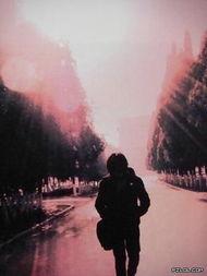 孤独的爱签名图片