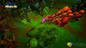 ...兽大作战 狩猎幻想 地图揭秘之翡翠森林