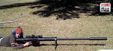 """撸一管- 第二名 anzio""""怪兽"""" 该枪由美国一家名为Anzio的枪械技术公司研发..."""