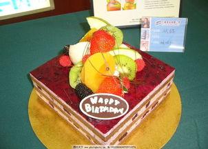 最高的生日蛋糕图片