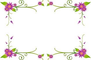 ...量花纹 底纹 花边系列图片专题,矢量花纹 底纹 花边系列下载