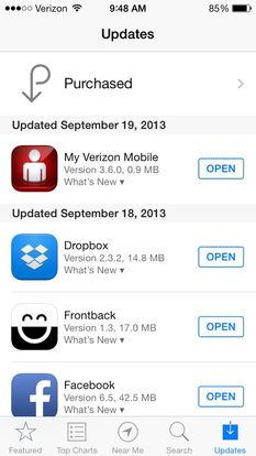 打开App Store,点击