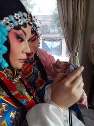 ...影联合国色天香化妆打造另类戏曲人物造型