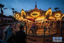 埃及 游乐园里过新年
