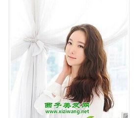 韩式中长发烫发发型