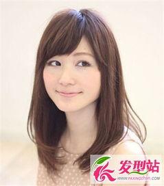 9款方脸女生适合的发型搭配刘海造型更是修颜瘦脸 发型脸型 最新 ...