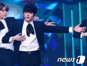 NCT127 泰容-冠军秀 AOA性感热舞夺冠 NCT 127黑西装酷帅