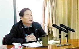 鹤山市环保局局长冯宝能-推动经济社会又好又快发展