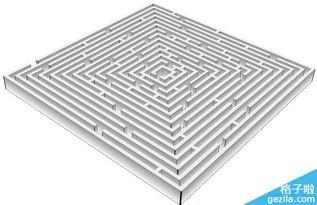 ...】|【 】|【重新着色图稿】. -Illustrator制作立体方形迷宫教程