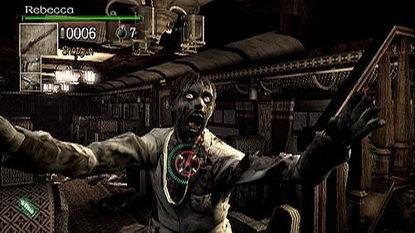 Wii版 生化危机 新图15张 用你的手对付丧尸