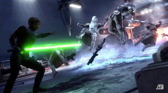 帝国-决斗黑武士 星球大战 前线 实际试玩画面