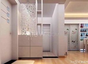 隔断鞋柜装修效果图 设计创意家居
