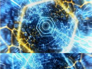高科技时光隧道穿越AE模板素材 高清MP4格式下载 视频12.75MB AE...
