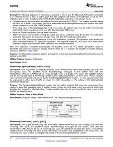 ...ents厂商 BQ2060A E619DBQG4 pdf预览第 24 页, datasheet数据手...