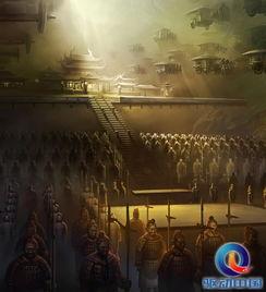 秦皇迷墓-1980年,考古工作者在秦始皇帝陵封土西侧约20米的一座赔葬坑内,...