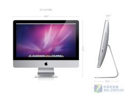 苹果iMac一体电脑-苹果iMac升级 配酷睿i3和1TB硬盘 图