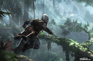 刺客信条在丛林背景下的各种动作都像泰山-丛林之王热映 玩 啪啪枪神 ...
