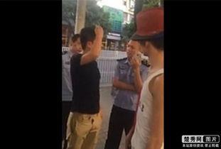 深圳的南山街头基友小红帽与黑衣男因开房后不给路费展开争吵,小红...