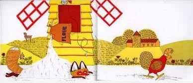 幼儿园大班语言教案 母鸡萝丝去散步 附绘本 PPT