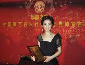 凤凰卫视主播许戈辉荣膺 最佳表现女主持人