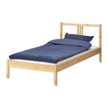 转让九成新宜家单人床 优质床垫