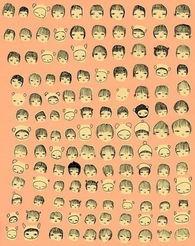 QQ空间平铺卡通背景图片 你懂得