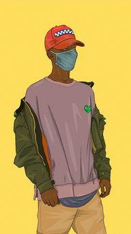 绘画 嘻哈 潮牌 帽子 苹果手机高清壁纸 640x1136 爱思助手