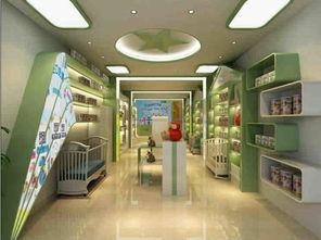 5款奶粉店装修效果图 母婴坊奶粉店面奶粉柜装修设计图