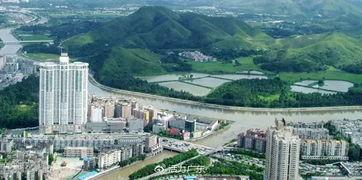 .站在384米高空之上俯瞰,蜿蜒的... 让这座花园城市中绿影婆娑、大楼...
