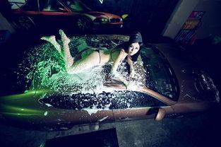 玉蝶碎梦-激情梦碎洗车房 比基尼大模的辗转腾挪(图片源自网络)