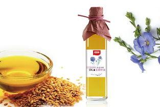 亚麻籽油的功效与作用