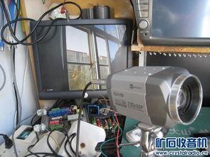 数字高清网络监控摄像头 模拟球机 高倍变焦镜头 4路监控录像机 一体...